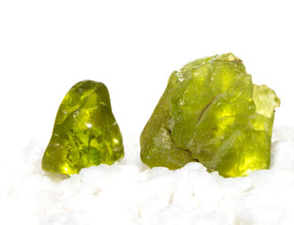 Raw unfinished Arizona peridot