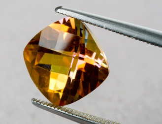Topaz gemstone that can be placed in a setting at Forever Diamonds